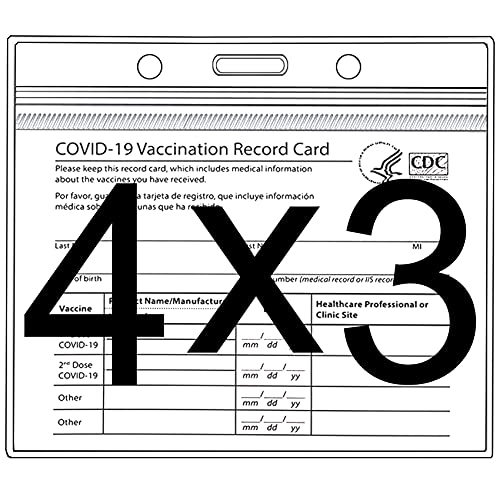 (70% OFF) CDC Vaccination Card Protector 2 Pack $2.40 – Coupon Code