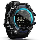 Smartwatch Reloj Inteligente Deportivo Profesional, Reloj Inteligente Resistente Al Aire Libre, Conexión Bluetooth, Aviso De Información De La Persona Que Llama, Resistente Al Agua 50M