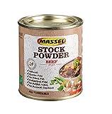 Massel, Caldo de Caldo en Polvo - Sin MSG, Sin Gluten, Sabor a Carne de Res - 168 g, Paquete de 3 Caldos Enlatados