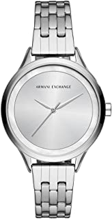 ARMANI EXCHANGE Women's AX5600 Year-Round Analog-Digital Quartz Silver Band Watch