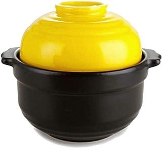 LJJSMG Casseroles Household Mini Casserole High Temperature Casserole Ceramic Pot Earth Pot Hot Pot Open Fire Bowl Porridg...
