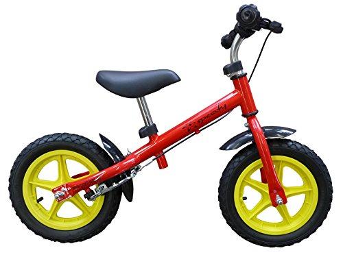 point-kids Kinderlaufrad Speedy 12 Zoll mit Bremse, Farbe: rot
