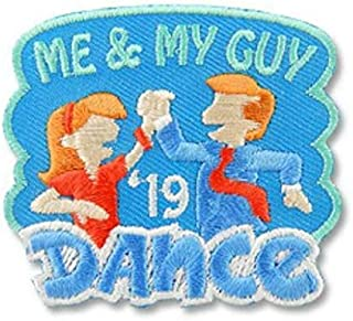 Girl ME and My Guy Dance '19 2019 Fun Patches Crests Badges Scout Guide Party