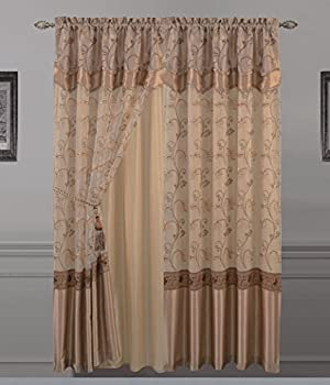 Best curtains with attached valance Reviews