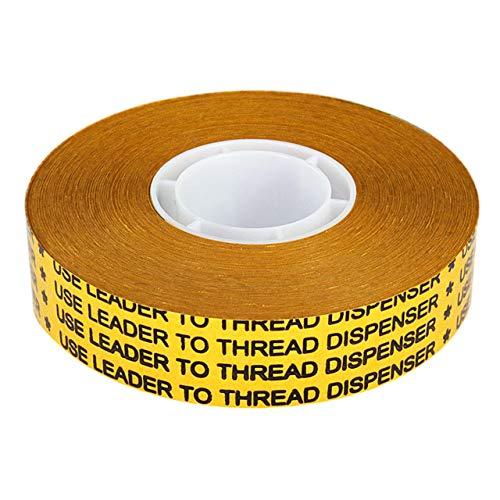 Cinta adhesiva de transferencia de doble cara para ATG 700 de diferentes anchuras 55 m de cinta adhesiva transparente para pruebas de productos, pósters, pegar fotos, etc.
