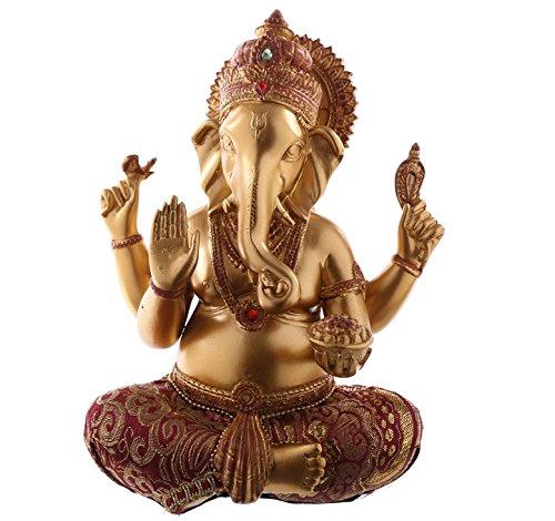 bick.shop Ganesha Statue Hinduismus Buddha buddafigur Indien Buddhismus ganescha Figur NEU