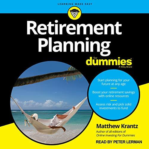 Retirement Planning for Dummies audiobook cover art