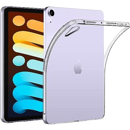 Vikisda iPad Mini 6 ケース カバー iPad Mini 2021 ケース クリア TPU透明保護 ソフト シリコンケース 薄型 衝撃吸収 耐衝撃 柔らかい手触り iPad Mini6(第六世代) 専用ケース クリア