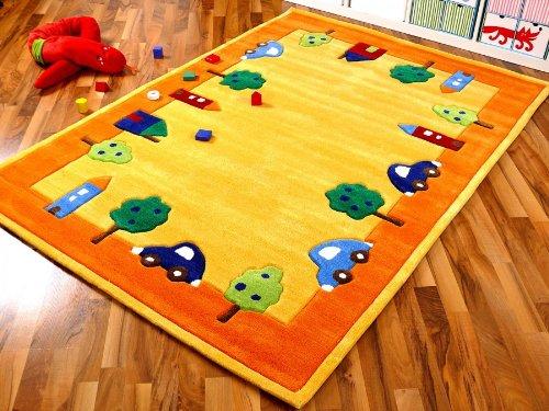 Lifestyle Kinderteppich Spielwelt Gelb in 4 Größen !!! Sofort Lieferbar !!!