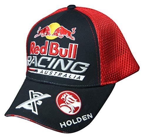 【RedBull Racing AUSTRALIA】V8 SuperCar 「HOLDEN Motorsport」赤 メッシュキャップ