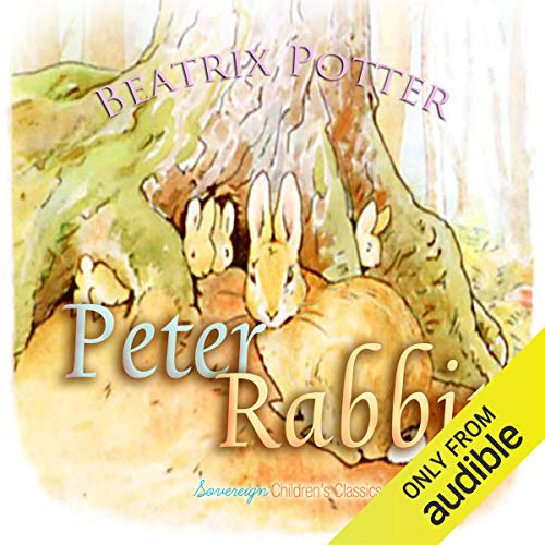 Peter Rabbit audiobook cover art