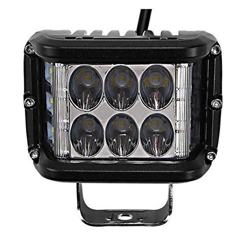 Super power 36W Dreiseitig Leuchtendes LED-Arbeitslicht Auto-Offroad-Anhänger Modifizierter Seitlicher LED-Scheinwerfer