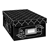 Heavy-Duty Photo/Video Storage Box, Chalkboad Shared Design