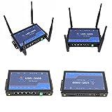 USRIOT USR-G800 4Gルーター産業用4GワイヤレスLTEルーターRS232 to 4Gネットワーク透過伝送(SIMカードスロット付き)