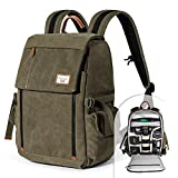 Camera Backpack Zecti Waterproof Canvas...