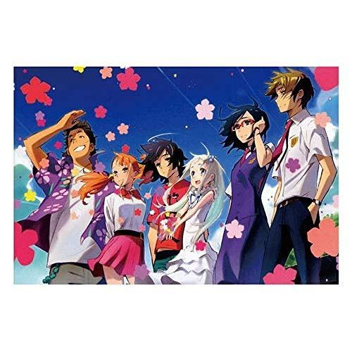 ZDWTXA Puzzle en Bois Anime Jeu Personnages Honma Meiko...