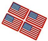 4pcs USA Flag...image