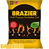 Brazier Multipurpose Smokeless Fuel 10kg Sack by Brazier