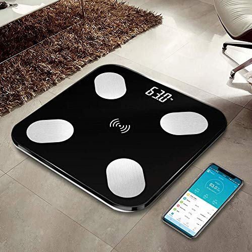 GVND Dura-Glass Digital Bluetooth Personal Body Weighing Scale, Best Electronic Bathroom Scales...