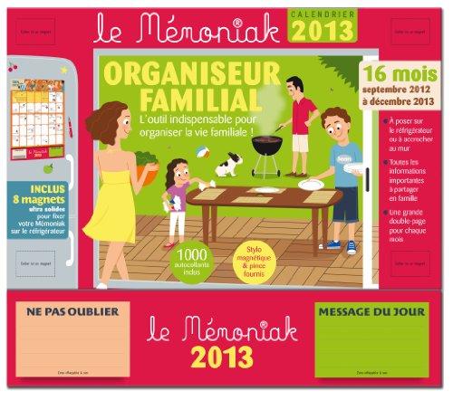 Organiseur Familial Mémoniak 2013