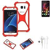 K-S-Trade® Mobile Phone Bumper + Earphones For Oukitel C5