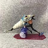 JINFENFG Postre de una Pieza Tres Estrellas Charlotte Katakuri Figura de Anime Charlotte Katakuri 21CM (8.274in) / Estatua estática de PVC/Colección Favorita de fanáticos del Anime y Otaku