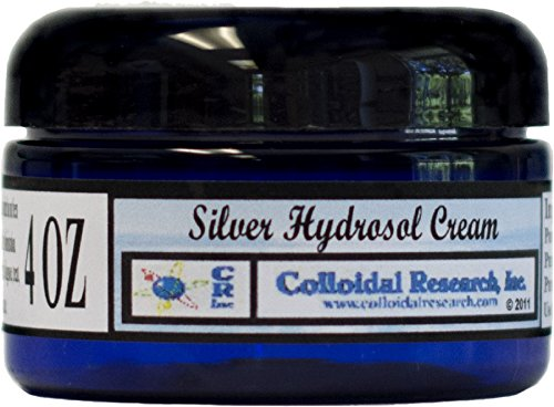 Silver Hydrosol Cream 4 OZ