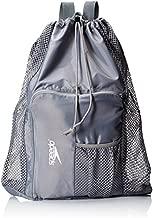 Speedo Unisex-Adult Deluxe Ventilator Mesh Equipment Bag , Frost Grey