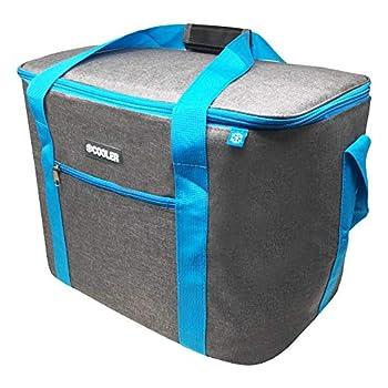 ToCi Sac isotherme gris foncé 36 litres - Sac isotherme pour pique-nique, camping, vacances, randonnée, barbecue
