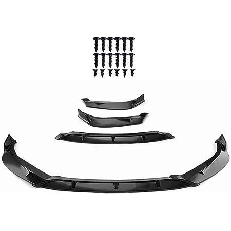 WFLNHB Front Bumper Lip Spolier Splitter Replacement for 2016-2018 Nissan Sentra Gloss black