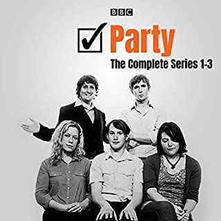 Party: The Complete Series 1-3                   By:                                                                                                                                 Tom Basden                               Narrated by:                                                                                                                                 Anna Crilly,                                                                                        Johnny Sweet,                                                                                        Katy Wix,                   and others                 Length: 5 hrs and 57 mins     Not rated yet     Overall 0.0