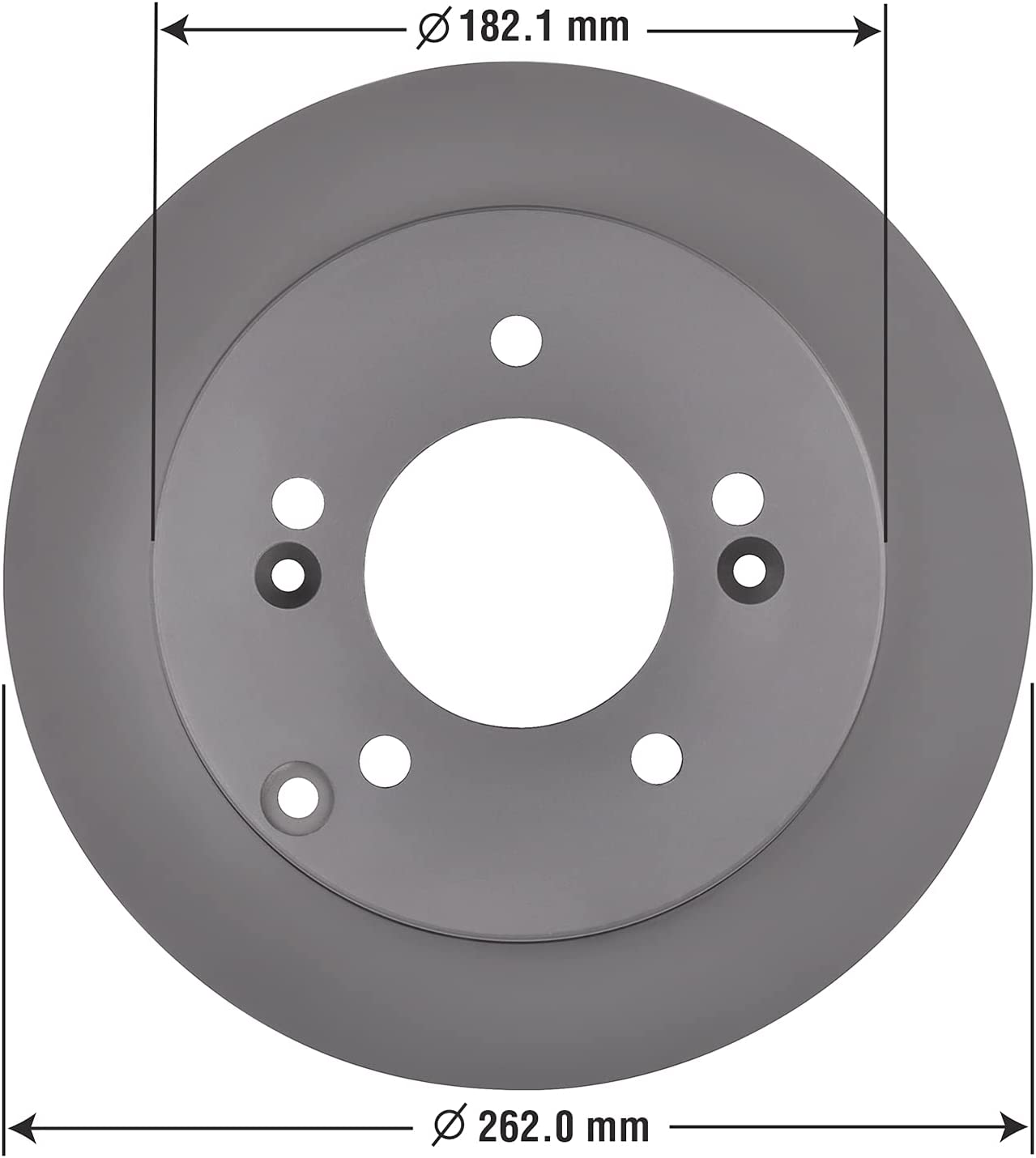 Special Campaign Max 43% OFF Goodyear Brakes 213854GY Premium AntiOx Brake Rotor Coated Rear