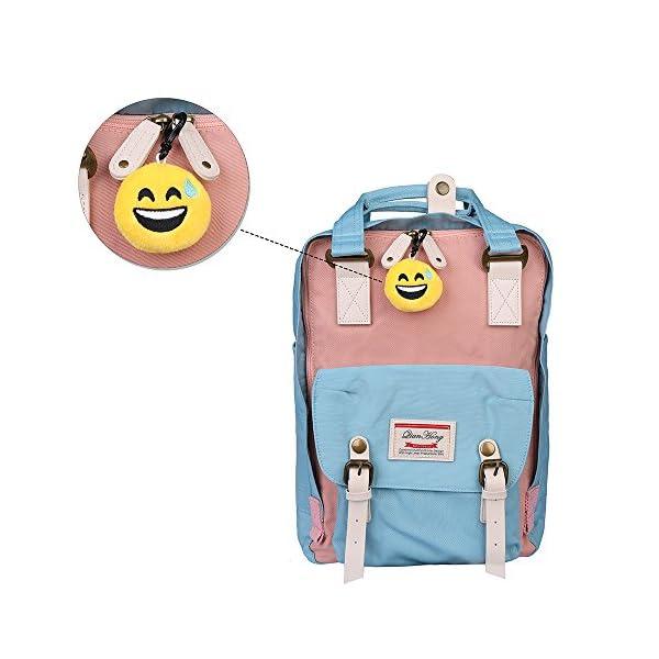 51nrzQV6 CL. SS600  - QH-Shop Emoji Llavero,Emoción Llavero 6cm Mini Regalo de Relleno de Juguete para Coche Mochila Fiesta Favores Decoración…