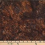 Hoffman 0668223 Bali Batik Rose Havana Fabric Stoff, By the