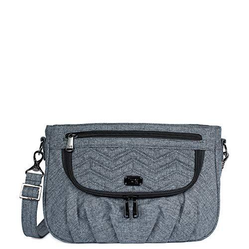 Lug Mambo Cross Body Bag, Heather Grey