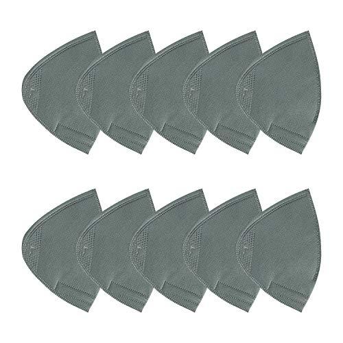 Lapulas Unisex Mundschutz FFP2 Schwarze Gesichtsschutz mit Filter Wiederverwendbare Waschbar Staubschutz Mundschutzn zum Radfahren Camping Outdoor
