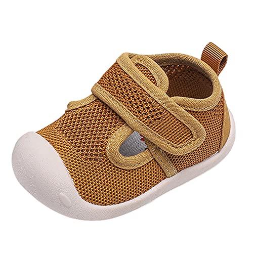 YWLINK Lindo Zapatos De NiñO Antideslizante Zapatos De Lona Zapatillas De Deporte Ligero Ocio CóModo Transpirable,Zapatos De Malla,Zapatos Baotou,Zapatos De Velcro para NiñOs PequeñOs
