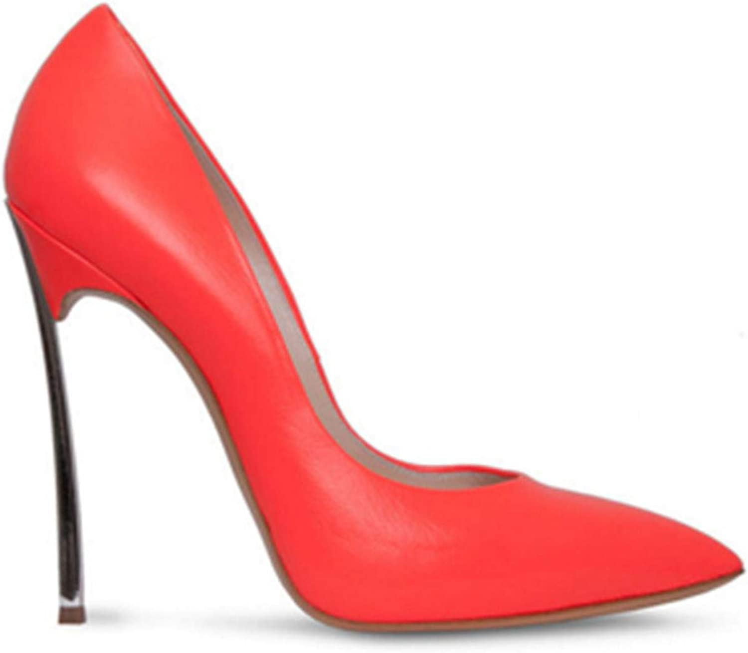 Woman High Heels Pumps 12CM shoes Slip-on shoes Pointed Toe