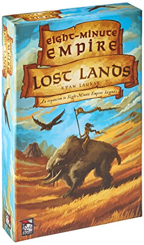 Red Raven Games RRG00007 Huit Minute Empire Lost Lands - Version Anglaise