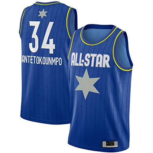 FSAFSA Camiseta de baloncesto de manga corta para exteriores, diseño de Swingman, color azul, edición icono