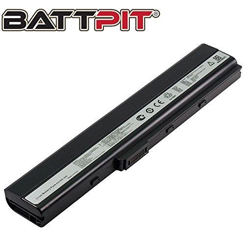 Battpit Laptop Akku für Asus A32-K52 A31-B53 A52D A52F A52J B53F K42F K52F K52N P52F X52D X52F X52J X52N - [6 Zellen/4400mAh/48Wh]
