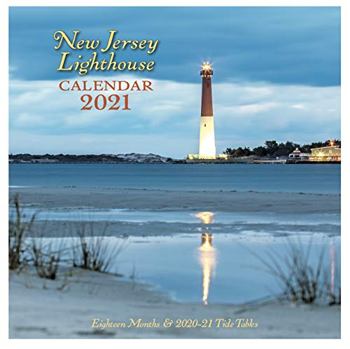 New Jersey Lighthouse Calendar 2021