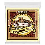 【正規品】 ERNIE BALL 2010 アコースティックギター弦 (9-46) Earthwood 80/20 Bronze 12-String Light ブロンズ 12弦 ライト