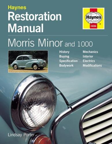 MORRIS MINOR RESTO MANUAL 2ND EDI (Haynes Restoration Manuals)