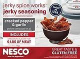 Nesco BJG-6, Jerky Spice Works, Cracked Pepper & Garlic Flavor, 3Count