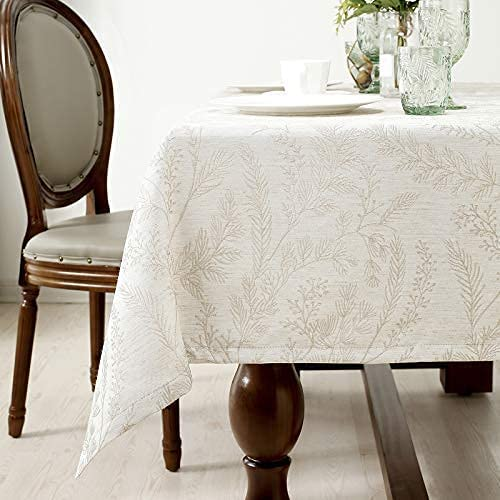 HARORBAY Oblong Cheap mail order specialty store Tablecloths 60 Max 48% OFF x Washable 120 Cloth Table Inch