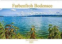 Farbenfroh Bodensee (Wandkalender 2022 DIN A2 quer): Lassen Sie sich verzaubern mit Farbenfrohen Momenten der Bodenseeregion (Monatskalender, 14 Seiten )