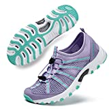ALEADER Womens Outdoor Breathable Water Hiking Shoes, Wet-Traction Grip Funtional Boating Sneakers...