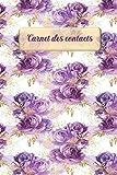 Carnet des contacts: Agenda d'adresses alphabétique | Carnet pour gérer les coordonnées et les informations de vos amis,...