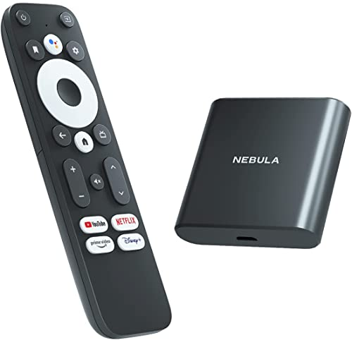 2021 NEBULA 4K Streaming Dongle with HDR, Powered by high quality Android TV, 7000+ Apps, Compatible with Google Assistant and Chromecast, Supports Dolby Digital Plus, Plug-in new arrival Smart TV with 2GB RAM and 8GB ROM Storage sale